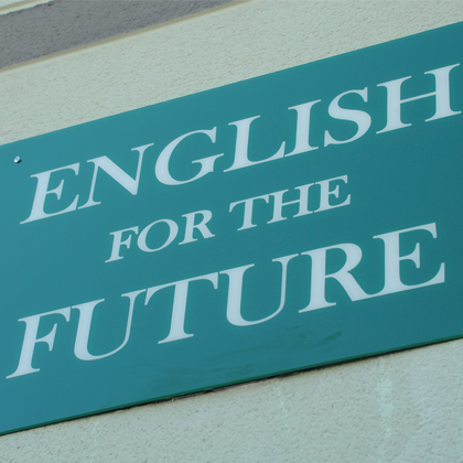 ENGLISH FOR THE FUTURE